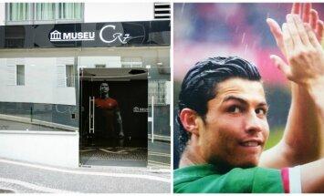 Cristiano Ronaldo muziejus Madeiroje (Š. Mažeikos, DELFI nuotr.)