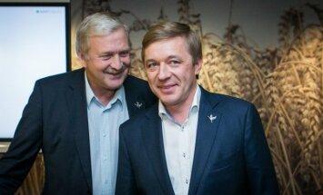 Ramūnas Karbauskis ir Bronius Ropė