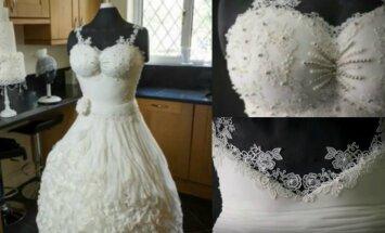 Vestuvinė suknelė, kurios nedėvėtų nė viena nuotaka