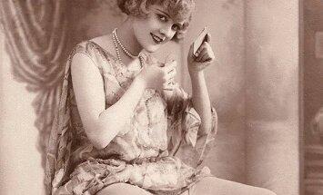 Kaip moterys atrodė prieš 100 metų