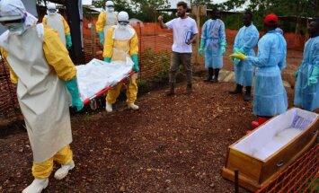 Kovotojai su Ebolos virusu Siera Leonėje