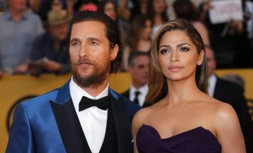 Matthew McConaughey ir Camila Alves