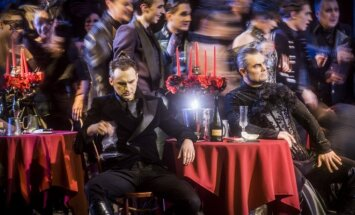 Akimirka iš operos Faustas Foto: Dmitrijus Matvejevas