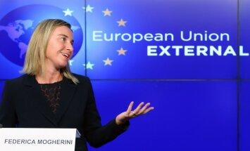EU external policy chief Federica Mogherini