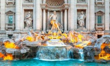 Štai kas nutinka monetoms, kurias įmetate į fontanus