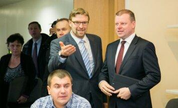Linas Kukuraitis, Saulius Skvernelis