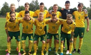 Lietuvos jaunių U-17 vaikinų futbolo rinktinė.