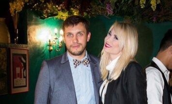 Natalija Bunkė su draugu
