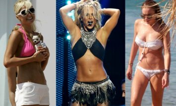 Paris Hilton, Britney Spears, Lindsay Lohan
