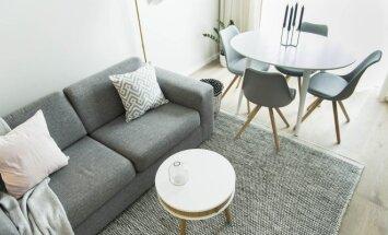 Balandžio mėnesio žurnale MANO NAMAI: mažų butų įsirengimo gudrybės