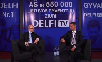 """""""Lūžio taško"""" interviu su """"Lietuvos energijos"""" valdybos pirmininku D. Misiūnu"""