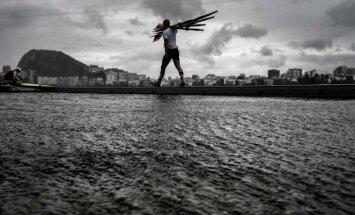 Dėl prasto oro Rio de Žaneire atšauktos trečiadienio olimpinės irklavimo varžybos