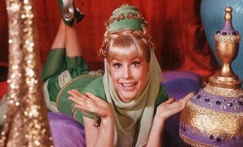 Barbara Eden seriale Mano svajonių Džinė