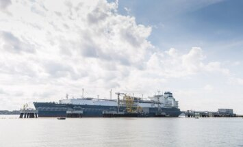 Independence, Klaipeda LNG terminal's floating storage and regasification unit
