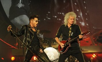 """Grupė """"Queen"""" ir A. Lambertas surengs pasirodymą Lietuvoje"""