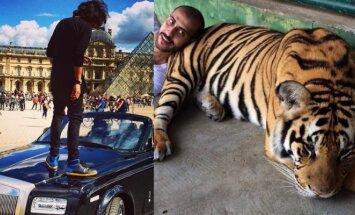 Ginklai, superautomobiliai ir itin egzotiški gyvūnai: kaip gyvena Saudo Arabijos auksinis jaunimas
