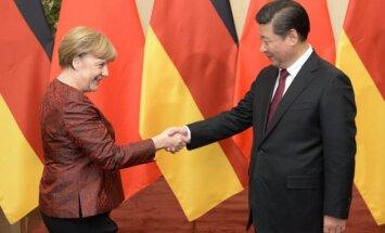 Angela Merkel, Kinijos prezidentas Xi Jinpingas
