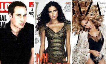 Princas Williamas, Demi Moore, Beyonce Knowles