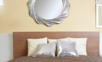 Kaip namuose kabinti veidrodžius, kad išvytumėte neigiamą energiją