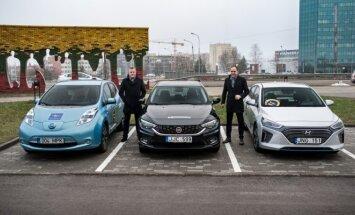 Top Gear Lietuva bando tris automobilius