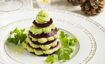 Burokėlių ir avokadų salotos kitaip