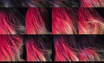 Sukurti plaukų dažai, skirti tik drąsiausioms