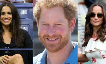 Meghan Markle, Pricas Harry, Pippa Middleton