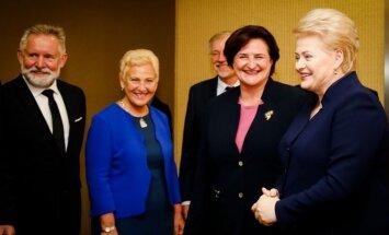 Dalia Grybauskaitė susitinka su Seimo valdyba