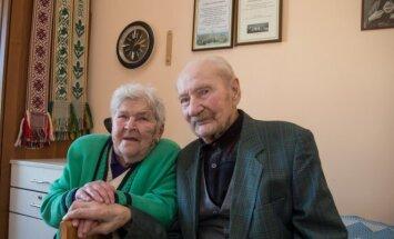 Antanas Kemzūra su žmona Antanina