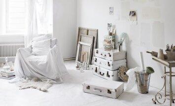 Nesenstanti elegancija: kaip suderinti pilkus ir baltus atspalvius interjere