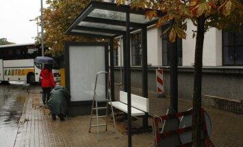 Nauja autobuso stotelė Kaune