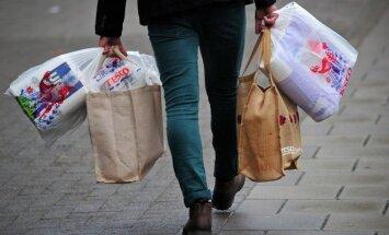 Parduotuvėse neliks nemokamų maišelių