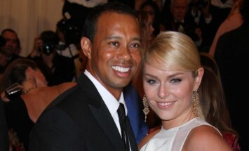 Tiger'is Woods'as ir Lindsay Vonn