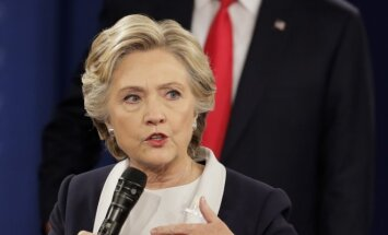 D. Trumpo ir H. Clinton debatai