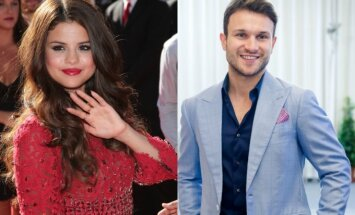 Selena Gomez, Vaidas Baumila