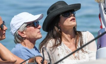 Catherine Zeta-Jones ir Michael Douglas