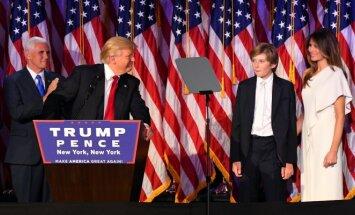 Melania Trump rinkimų naktį