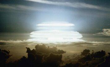 Vandenilinės bombos Cherokee sprogimas