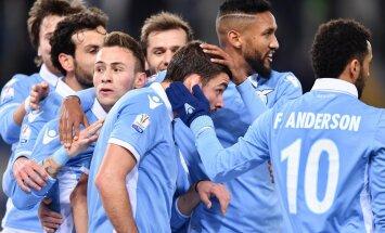 Romos Lazio futbolininkai