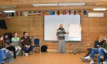 Olimpinės kartos ambasadorių mokymai. Foto / LTOK