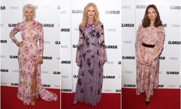 Holly Willoughby, Nicole Kidman, Lily James