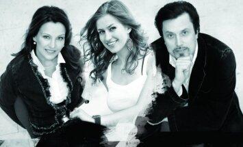 Vytautas, Eglė ir Ieva Juozapaičiai