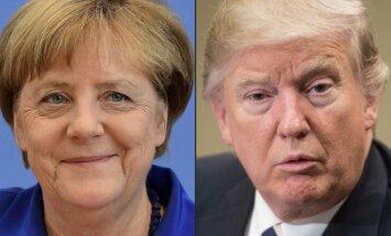 Angela Merkel  Donaldas Trumpas
