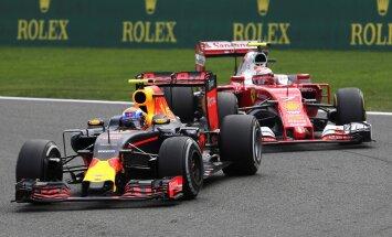 Maxas Verstappenas ir Kimi Raikkonenas