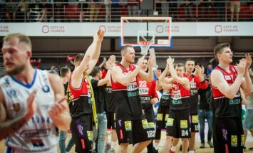 BC Lietuvos rytas after winning bronze