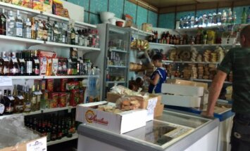 Sibiro kaimo parduotuvė