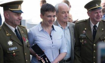 N. Savčenko lankosi Lietuvoje