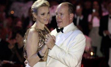 Princesė Charlene ir Albertas II