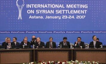 Taikos derybos Astanoje