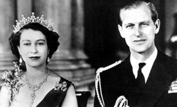 Karalienė Elizabeth II jaunystėje
